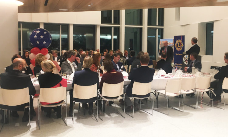 Lions Club Wassenaar organizes annual dinner at the U.S. Embassy