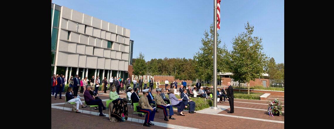 Ambassador Hoekstra leads 9/11 Commemoration event