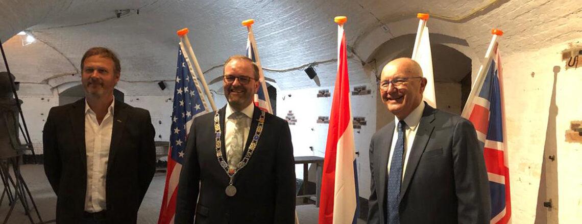 Ambassador Hoekstra reopens WO 2 & Vliegeniersmuseum in West Betuwe