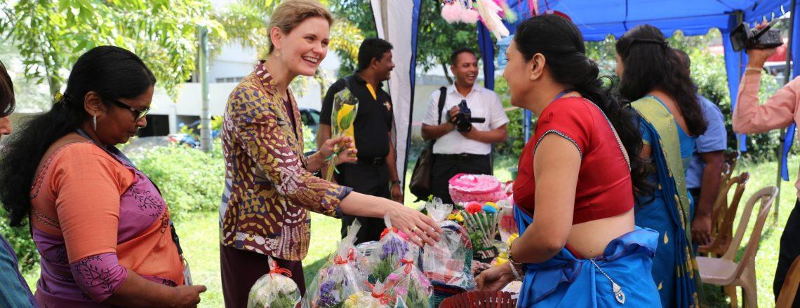 U.S. Embassy Helps Rural Women Become Entrepreneurs
