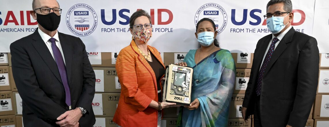 The United States Donates 200 Ventilators to Support Sri Lanka's Response to COVID-19