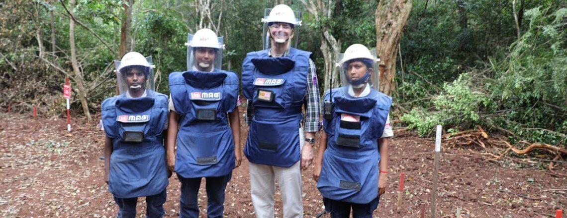 United States Advances Goal of a Mine-Free Sri Lanka