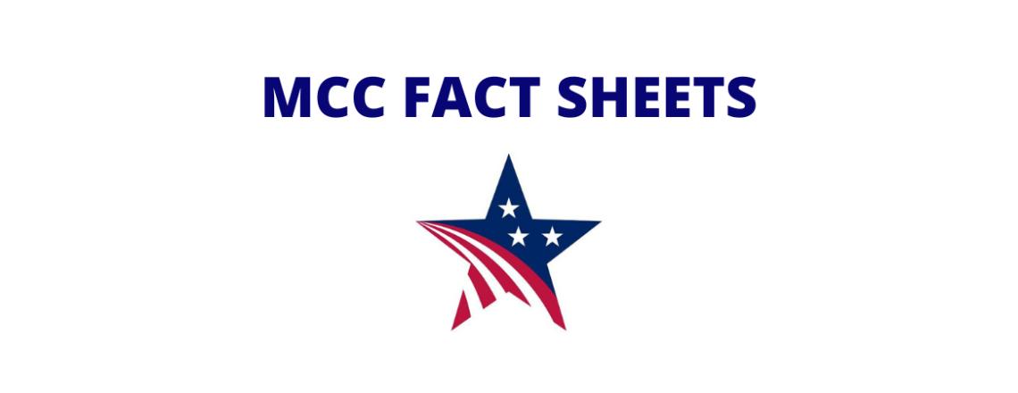 MCC Fact Sheets