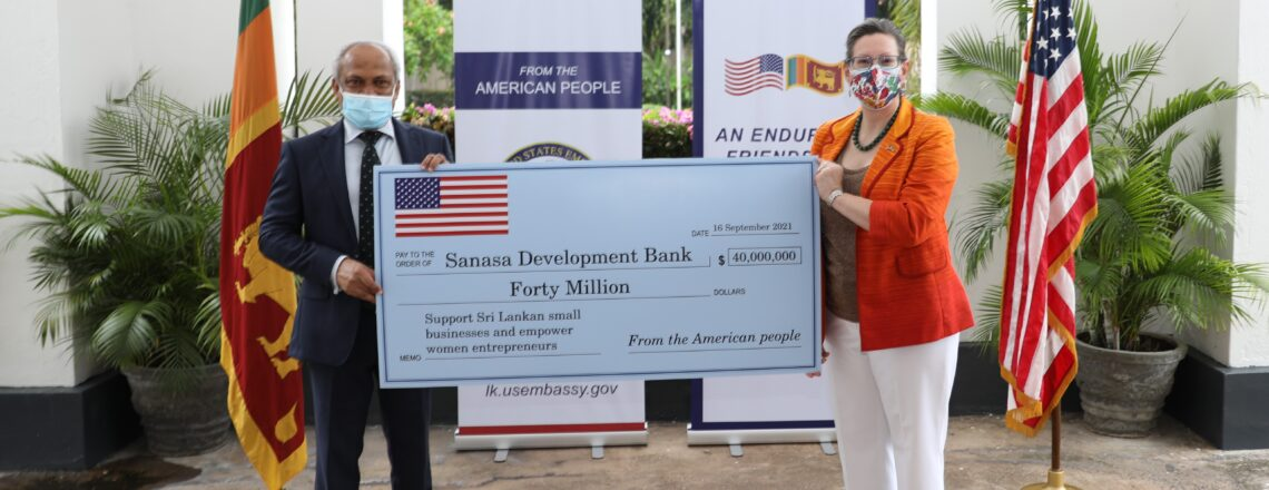 United States Delivers $40 Million in Financing to Support Small Businesses and Empower Sr