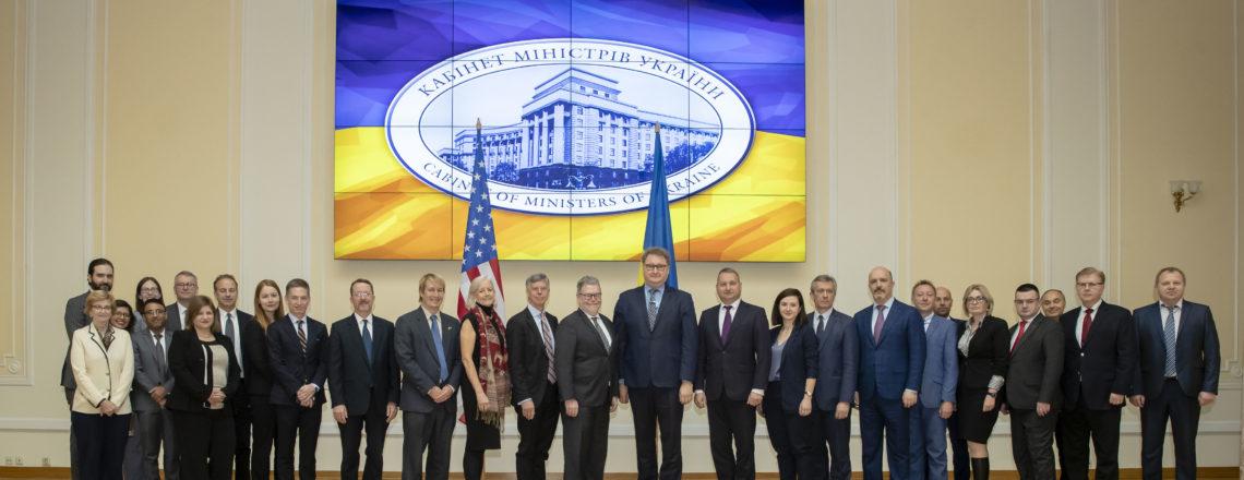 Спільна заява щодо Дев'ятого засідання Американо-української Ради з торгівлі та інвестицій