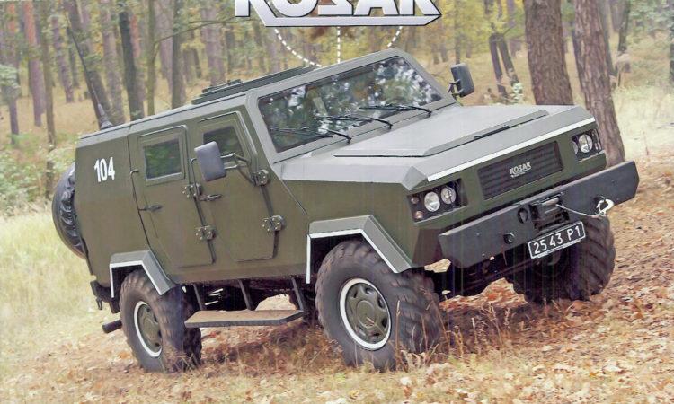 """""""Kozak"""" armored vehicle"""