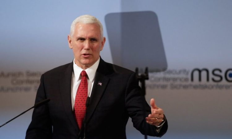 Vice President Mike Pence Delivers Remarks at the Munich Security Conference