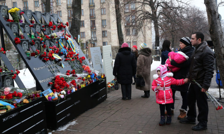 Third Anniversary of Ukraine's Revolution of Dignity