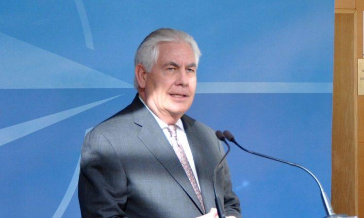 Rex W. Tillerson delivers remarks