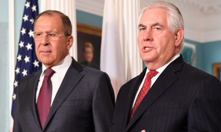 Secretary Tillerson's Meeting with Russian Foreign Minister Sergey Lavrov