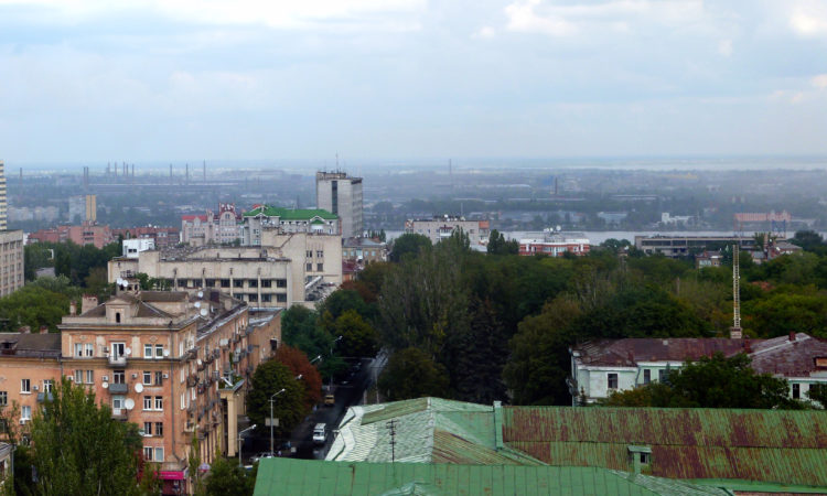 City view of Dnipro