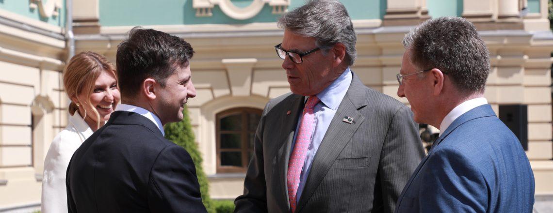 Заява для преси Міністра енергетики США Ріка Перрі