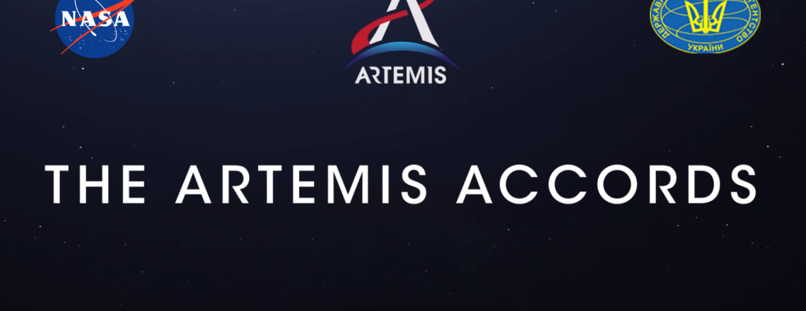 Ukraine becomes the 9th country to sign the Artemis Accords