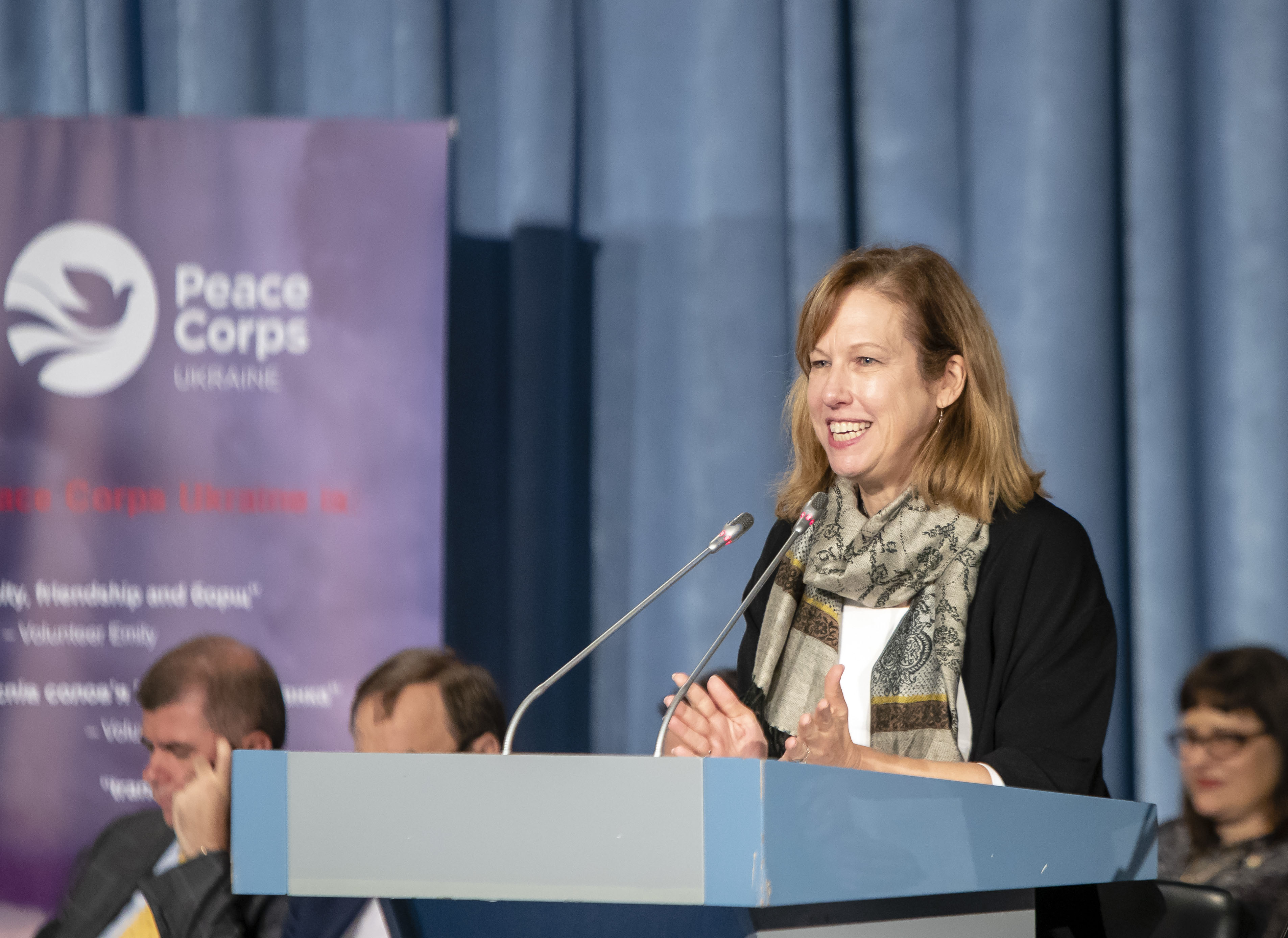 Remarks by Deputy Chief of Mission Kristina Kvien at a Swearing-In Ceremony  for Peace Corps Volunteers | U.S. Embassy in Ukraine