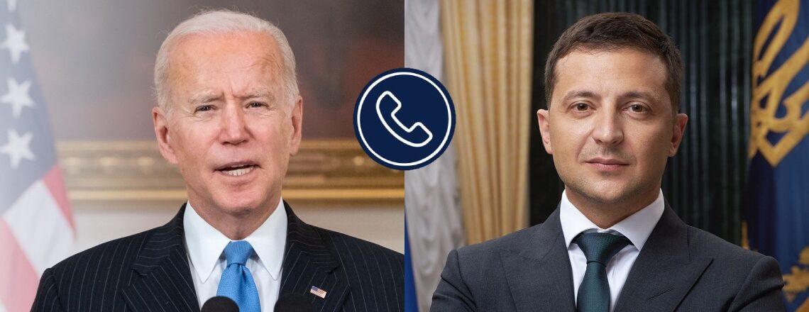 Виклад змісту телефонної розмови Президента Байдена з Президентом України Зеленським