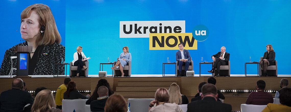 Виступ Тимчасової повіреної у справах США в Україні Крістіни Квін