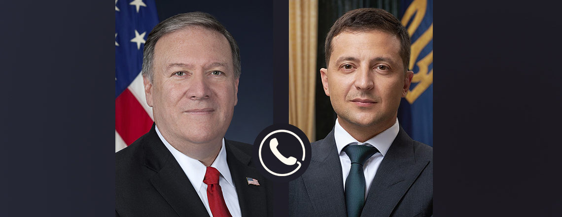 Secretary Michael R. Pompeo's Call with Ukrainian President Zelenskyy