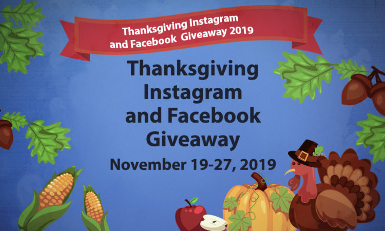 Thanksgiving giveaway 2019