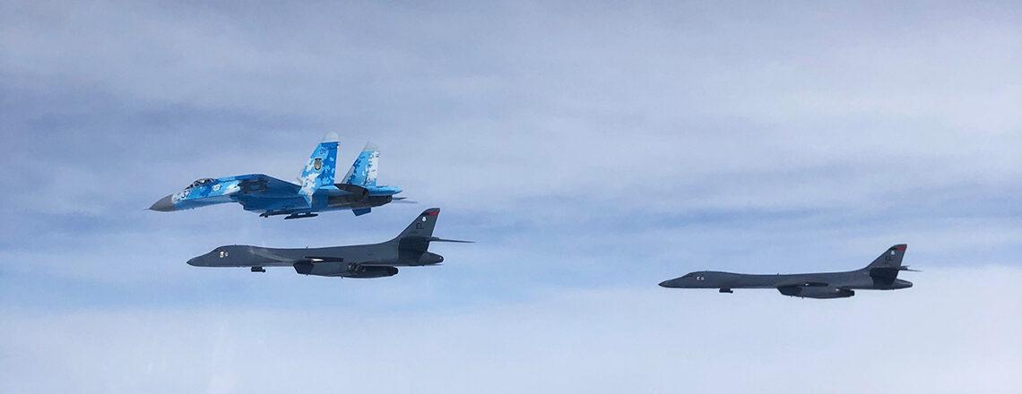 B-1 вперше інтегруються з українськими та турецькими літаками
