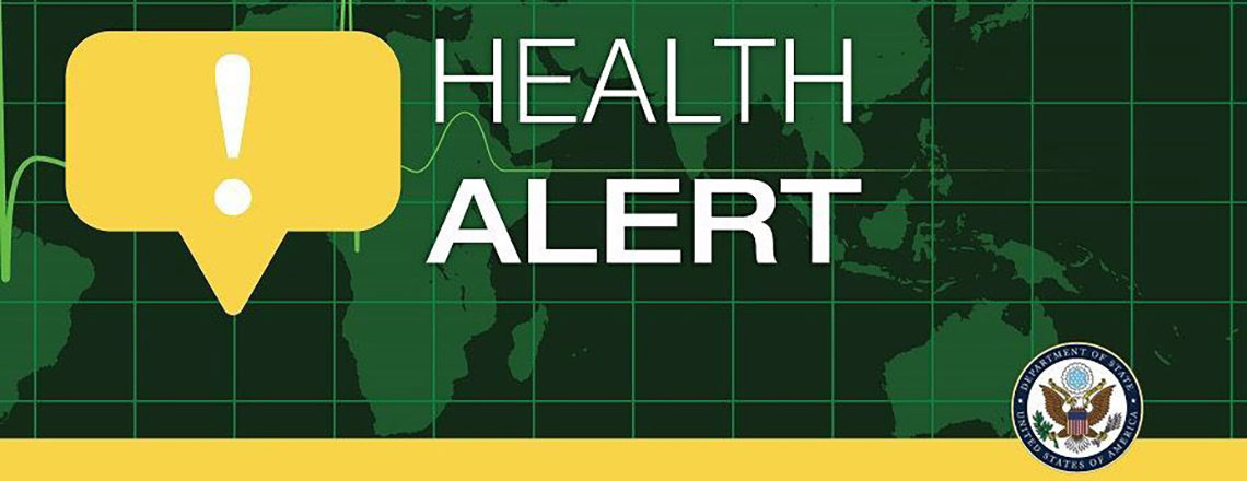 Health Alert – U.S. Embassy Kyiv, Ukraine