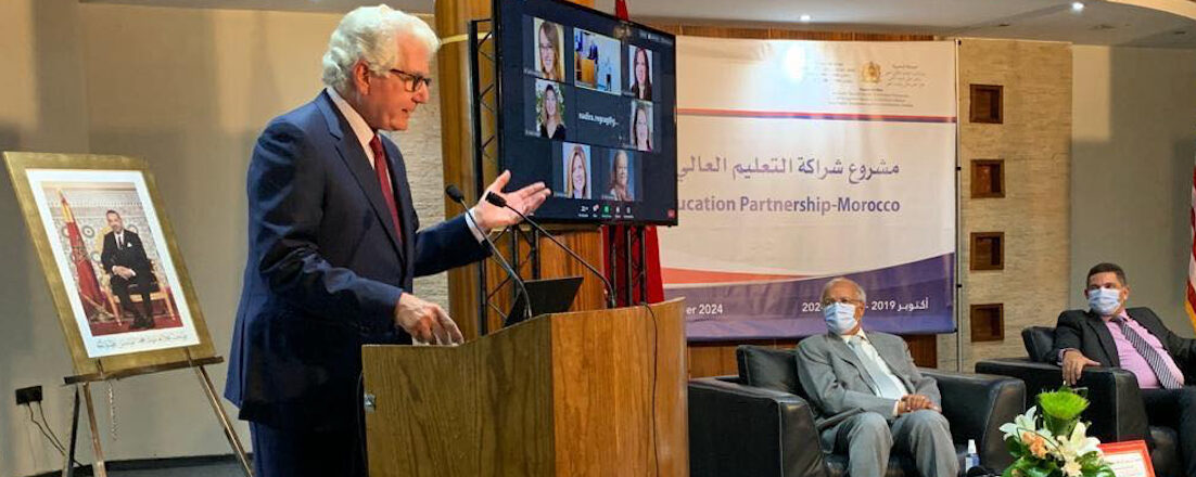 UNITED STATES AND MOROCCO LAUNCHED THE PROGRAM FOR TEACHER TRAINING:
