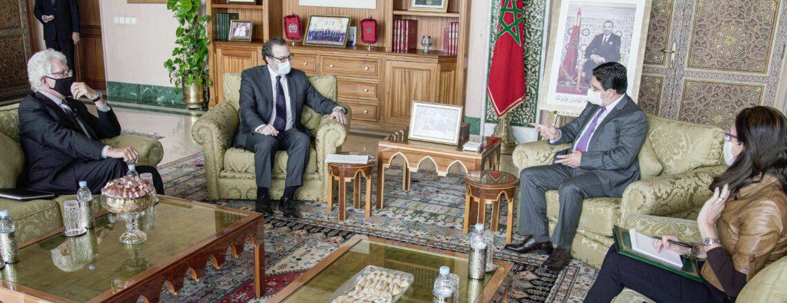 تصريح مساعد الوزير شنكر للصحافة في وزارة الخارجية المغربية