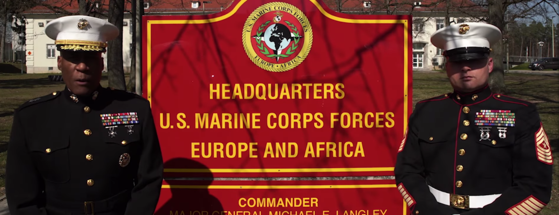 The U.S. Marine Corps celebrating 200 years of friendship and security cooperation
