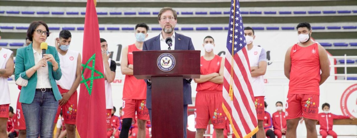 U.S. Embassy and AS Sale Basketball Club Announce Morocco's participation