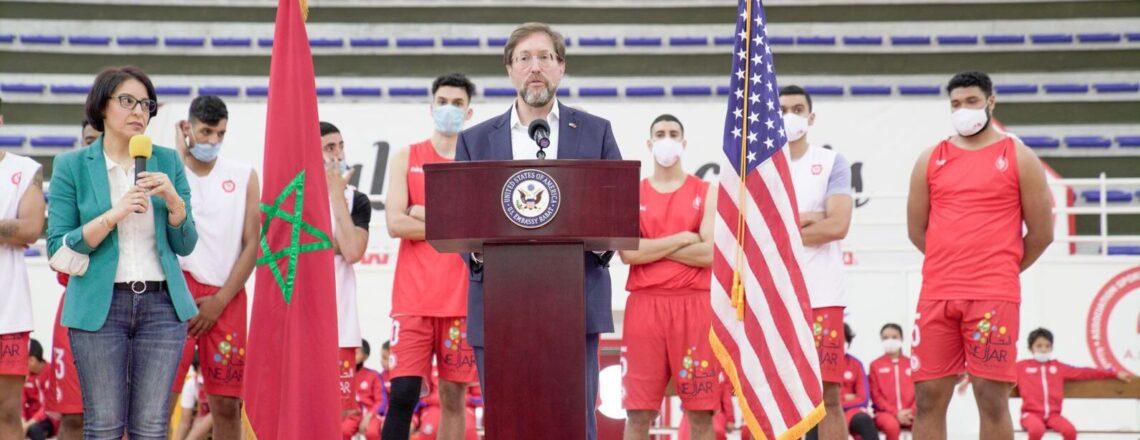 L'Ambassade des États-Unis et le Club de l'AS Salé Annoncent la Participation du Maroc