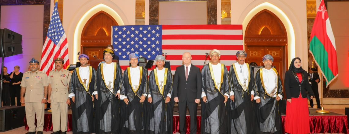 U.S. National Day Celebrates U.S.-Oman Ties