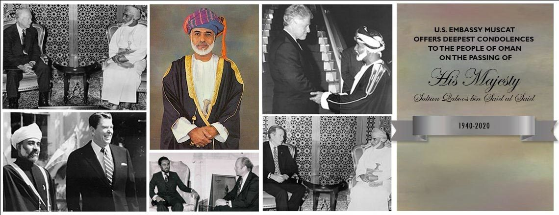 Statement on the Passing of His Majesty Sultan Qaboos