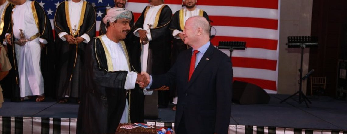 U.S. National Day Celebrates U.S.-Oman Ties