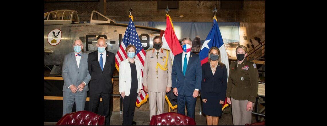 Texas National Guard and Egyptian Military begin Long-Term Military Partnership