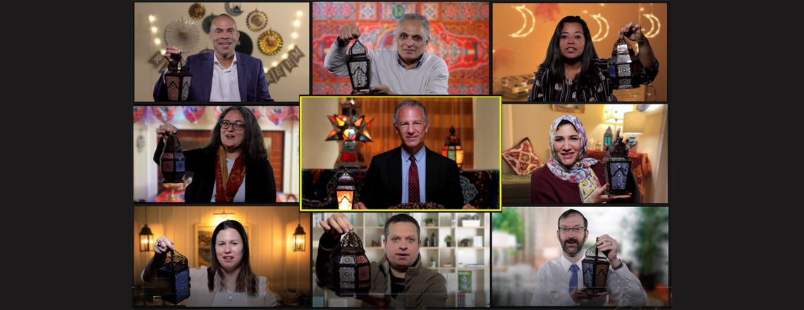 السفارة الأمريكية بالقاهرة تحتفل بشهر رمضان المبارك