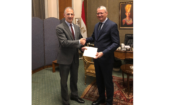 U.S. Ambassador Jonathan Cohen Presents Credentials at the Egyptian Ministry of Foreign Affairs – November 17 2019