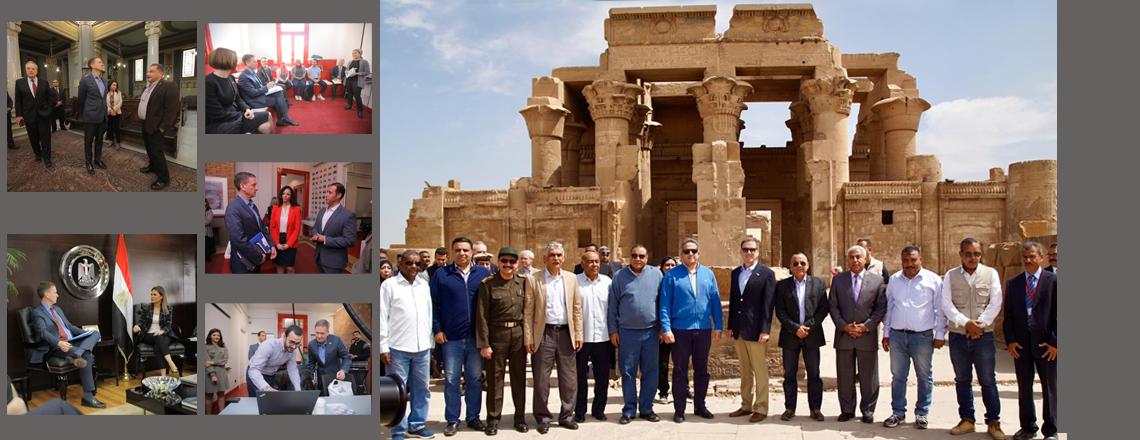 Administrator Mark Green's Visit to Egypt