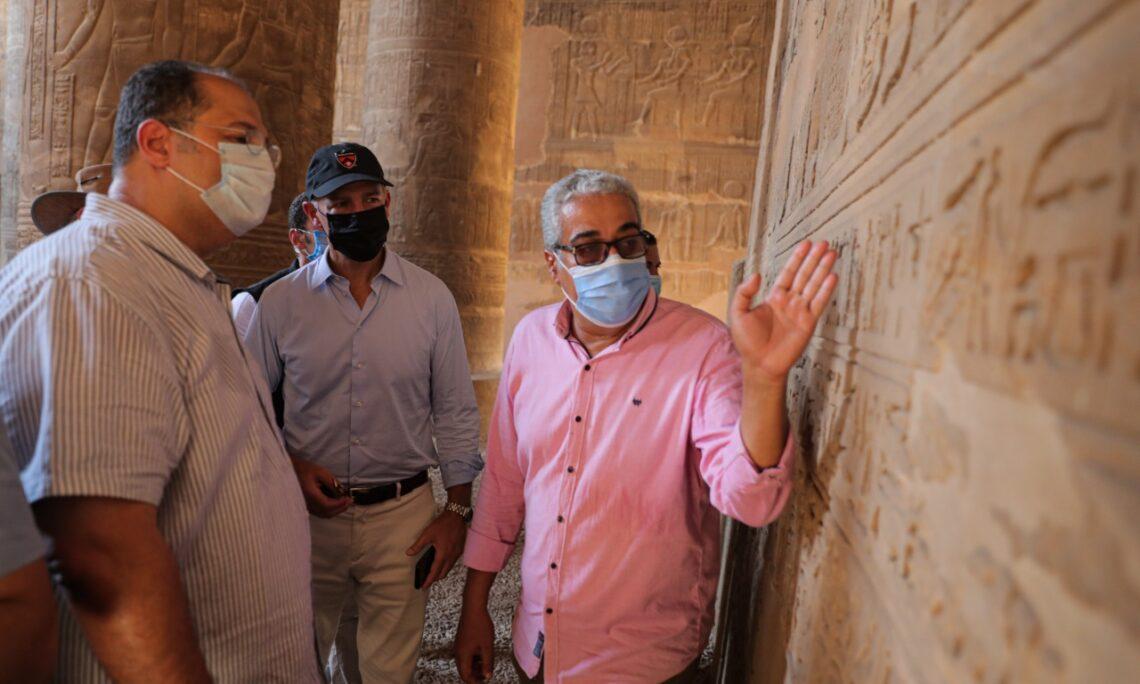 U.S. Ambassador Visits Esna and Luxor