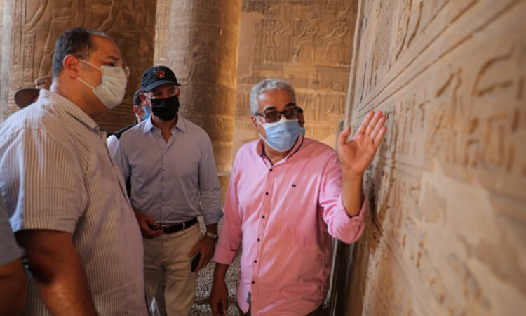 U.S. Ambassador Visits Esna and Luxor