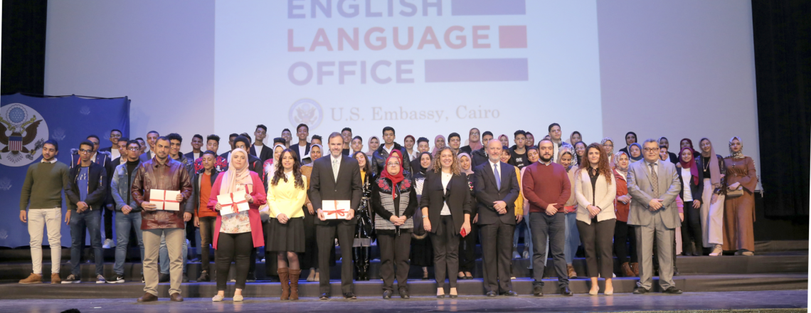 720 Egyptian Youth Graduate from U.S. EmbassyEnglish Language Program