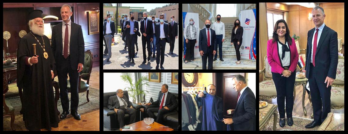 U.S. Ambassador Visits Alexandria and Damietta