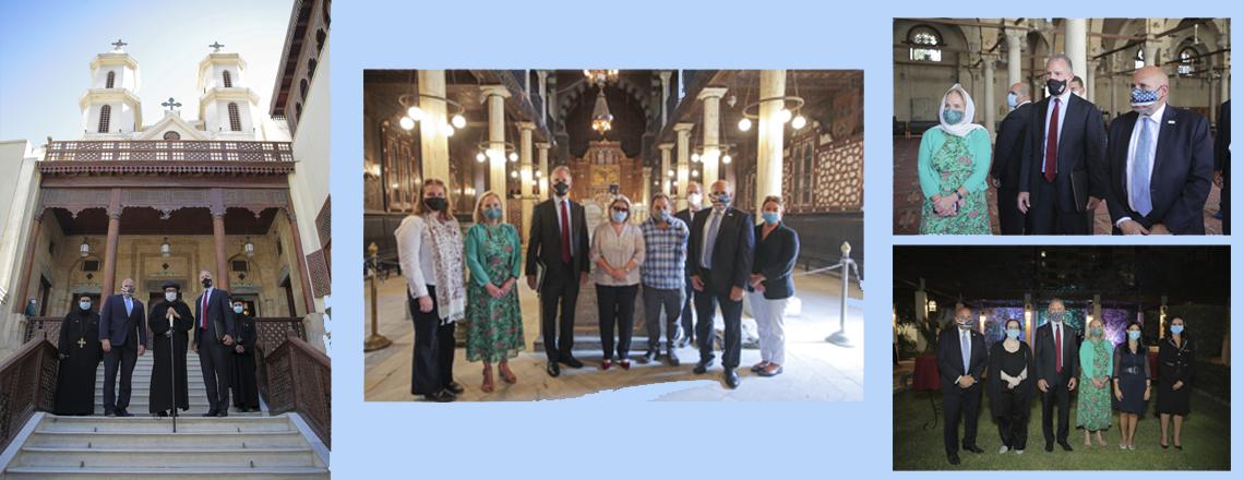Acting USAID Administrator John Barsa Travels to Egypt