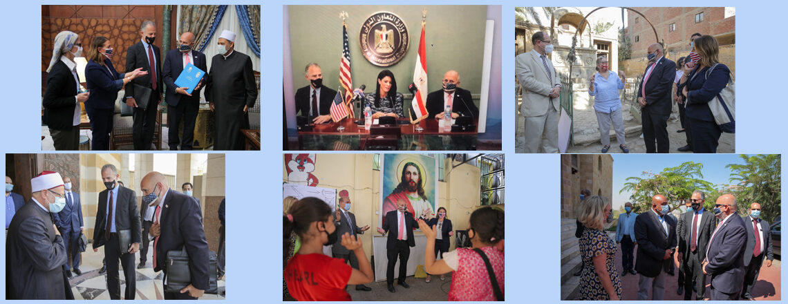 John Barsa Meets with Egyptian Government and Religious Leaders