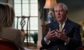 Secretary of State Rex Tillerson opens up in rare, wide-ranging interview - CBS News