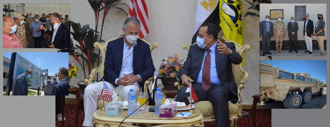 U.S. Ambassador Visits North Sinai