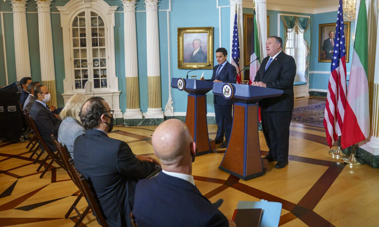Secretary Pompeo Delivers Joint Statements with Kuwaiti Foreign Minister Sheikh Ahmad Nasser Al-Mohammad Al-Sabah