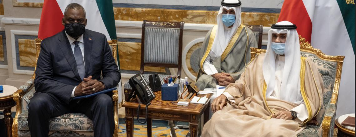 Secretary of Defense Lloyd J. Austin III's Visit to Kuwait