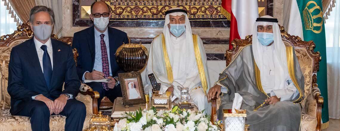 Secretary Blinken's Meeting with the Amir of Kuwait Sheikh Nawaf Al-Sabah