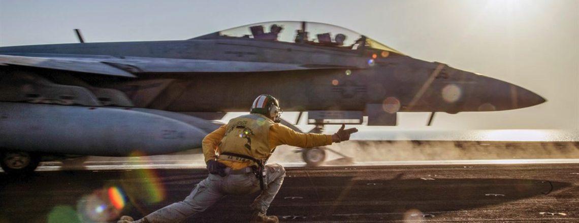 العزم الصلب – عمليات التحالف الدولي ضد تنظيم داعش الإرهابي
