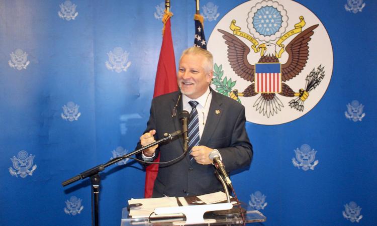 U.S. Ambassador Andrew Young