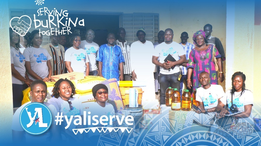the 2019 YALI Mandela Washington fellows brought their support to the Internally displaced persons in the Centre-Sud Region
